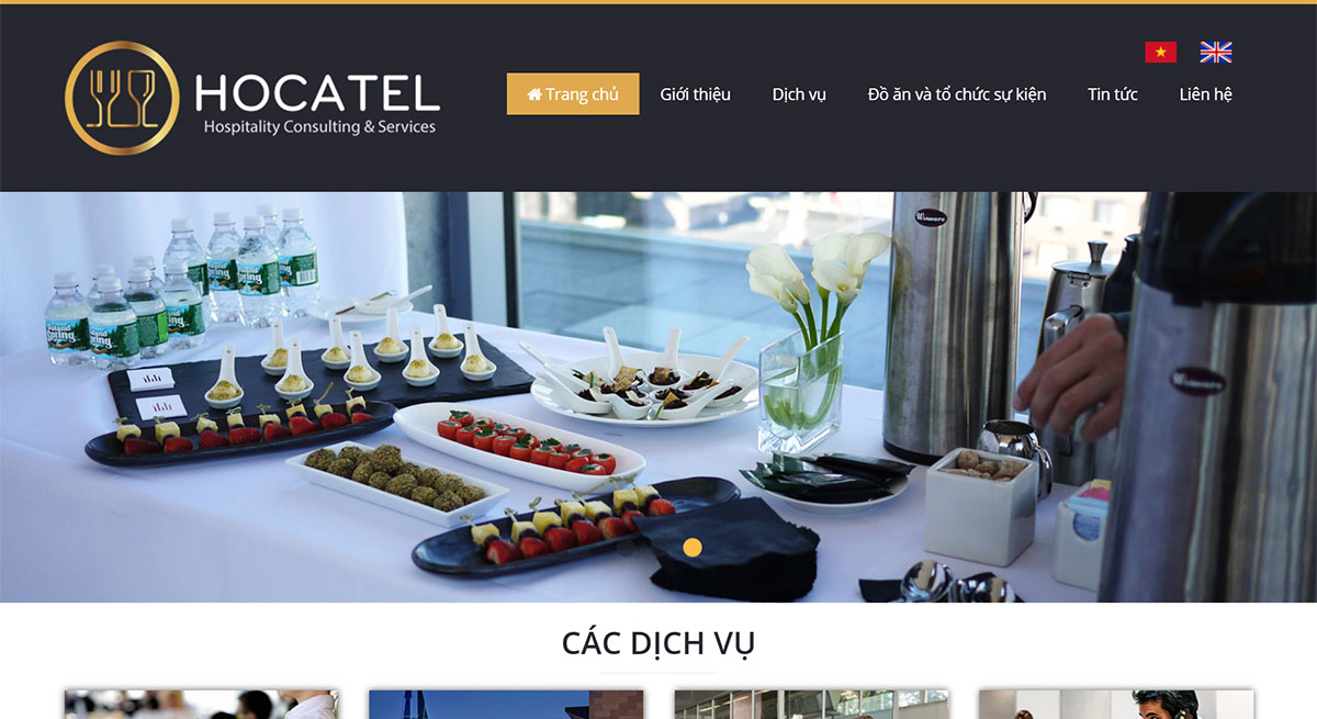 thiet ke web wordpress hocatel