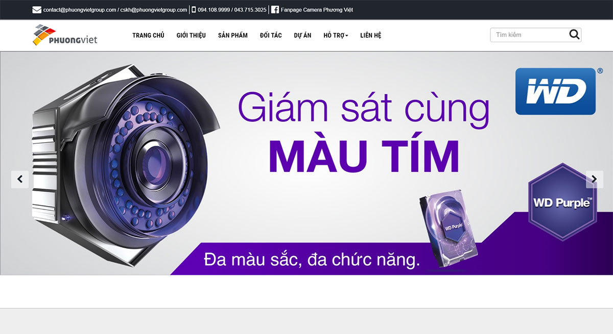 thiet ke web wordpress phuongvietgroup