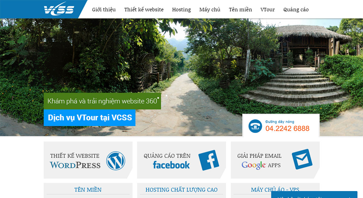 thiet ke website Wordpress vcss